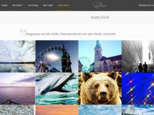 Website für Fotografen